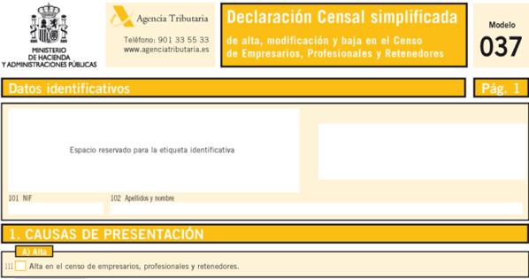 modelo 037 pdf