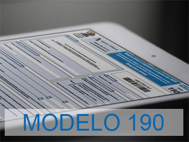 modelo 190 qué es