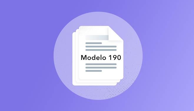 modelo 190 vector