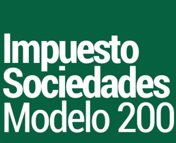 modelo 200 impuesto sociedades