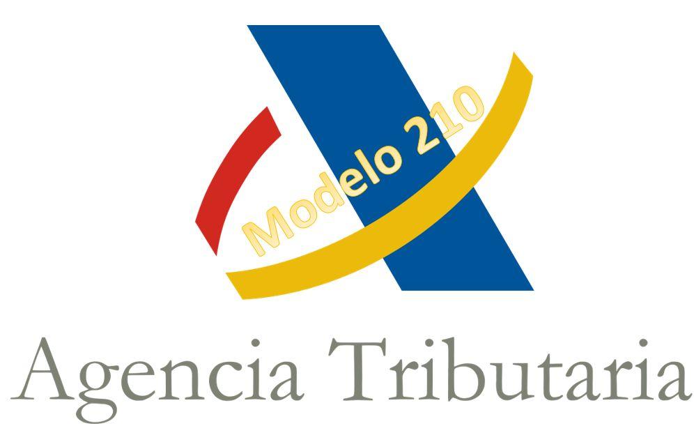 modelo 210 agencia tributaria
