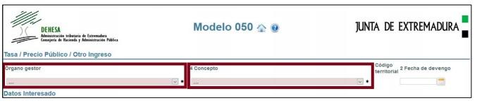 modelo 50 junta de extremadura paso 7