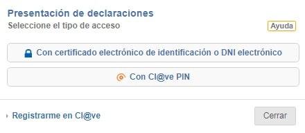 modelo 576 certificado electrónico