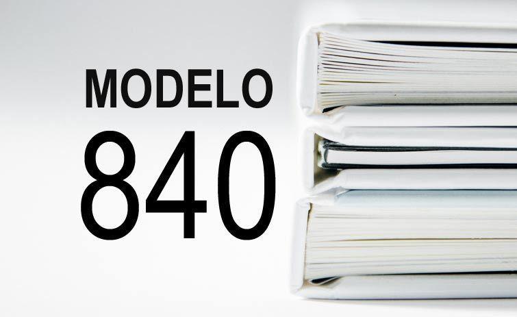modelo 840 iae