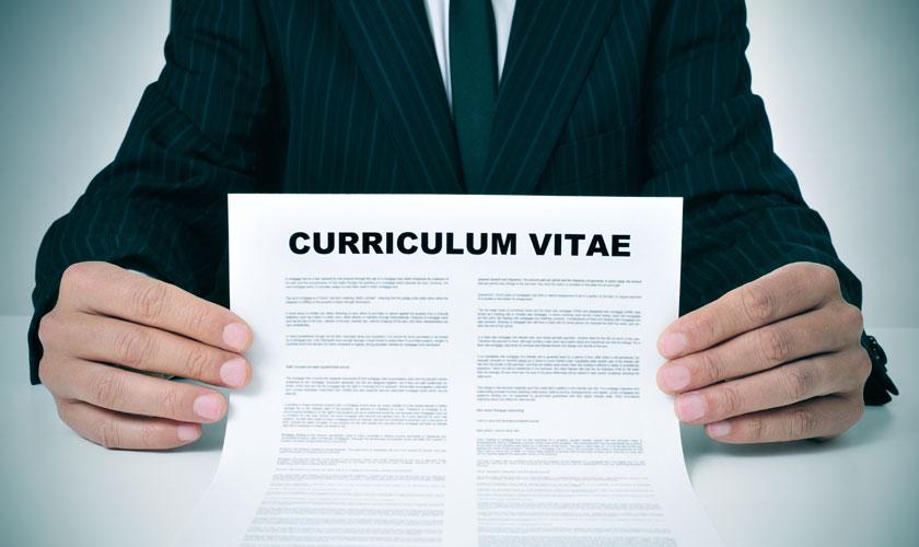 modelo currículum vitae entrega