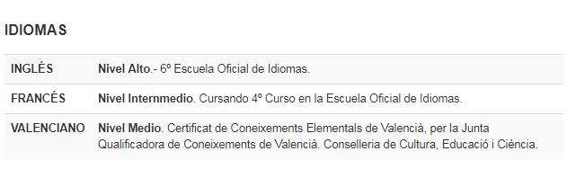 modelo currículum vitae paso 5