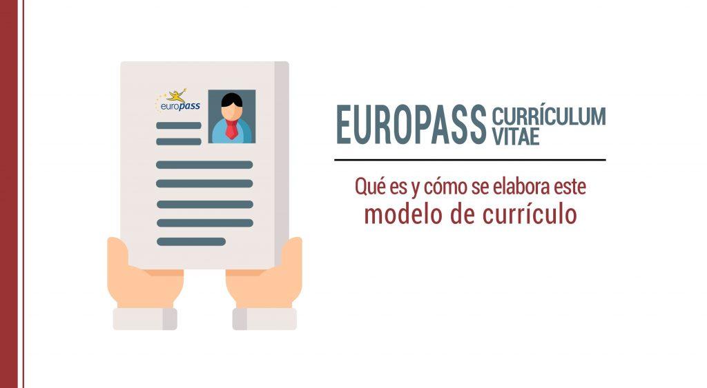 modelo currículum vitae europeo qué es