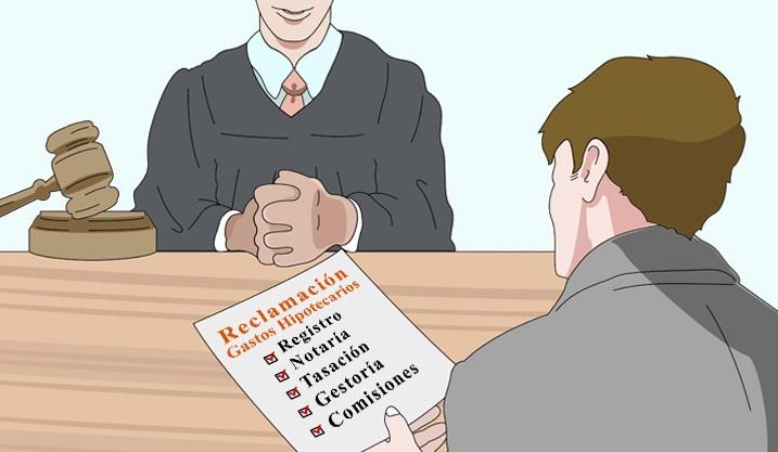 modelo reclamación gastos hipoteca presentación