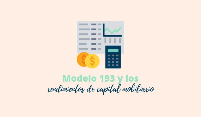 modelo 193 capital mobiliario
