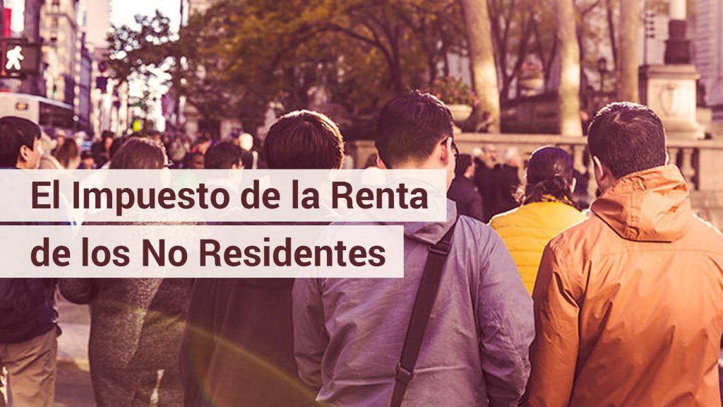 modelo 216 renta no residentes