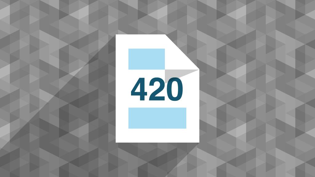 modelo 420 vector