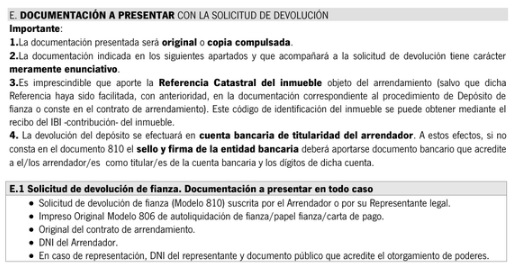 modelo 810 instrucciones de presentación 2