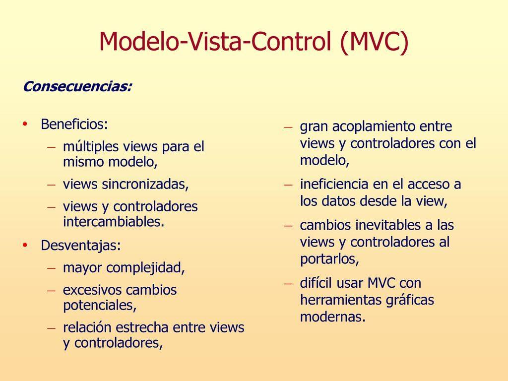 modelo vista controlador beneficios