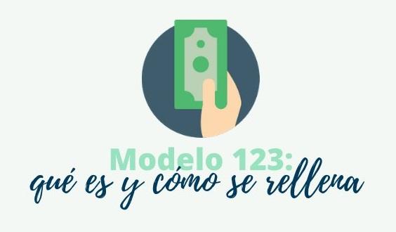 modelo 123 qué es