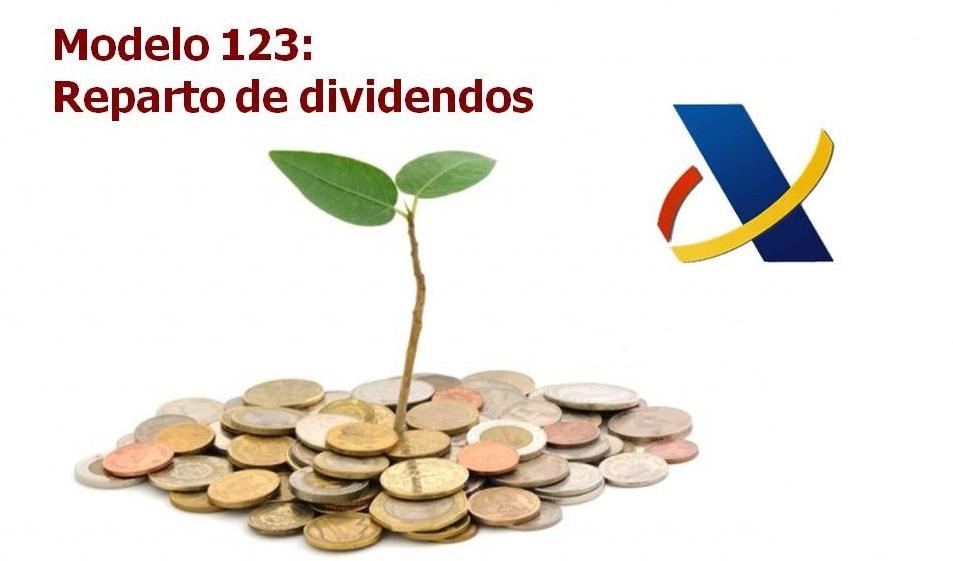 modelo 123 dividendos aeat