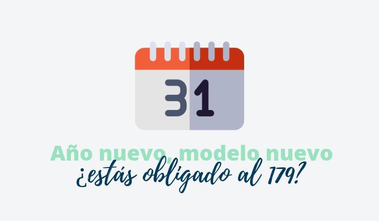 modelo 179 obligado a presentar