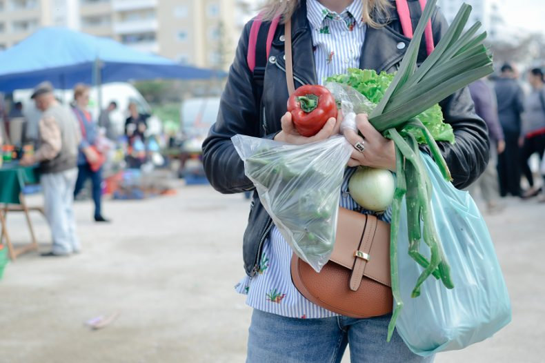 modelo 751 bolsas de compras plástico