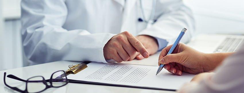 modelo consentimiento informado firma doctor