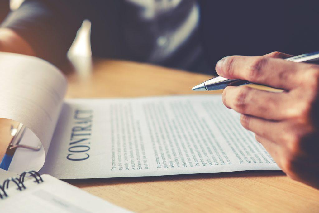 modelo contrato indefinido firma