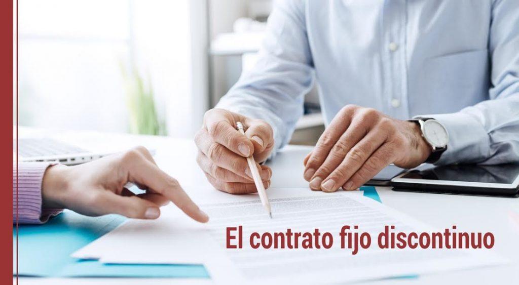 modelo contrato indefinido fijo discontinuo qué es