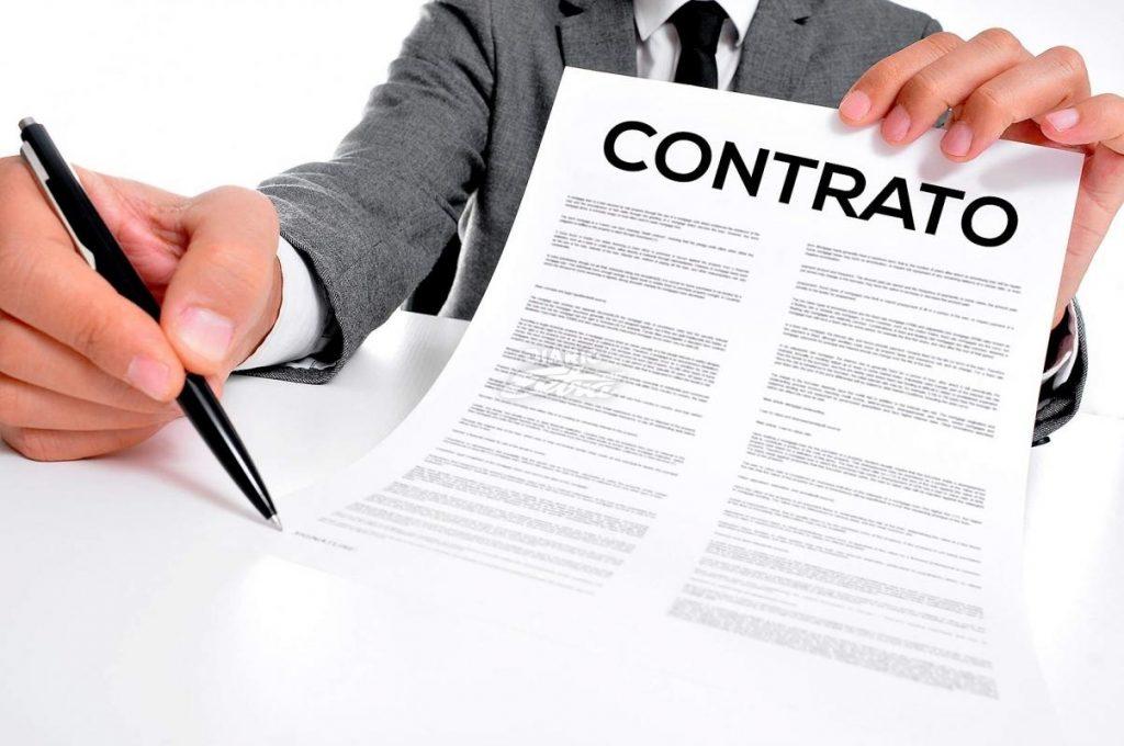 modelo de contrato de trabajo firma