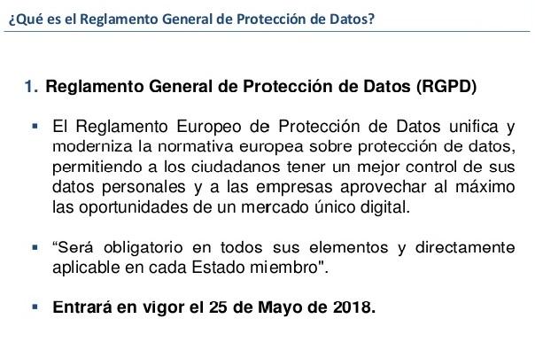 modelo documento protección de datos reglamento general