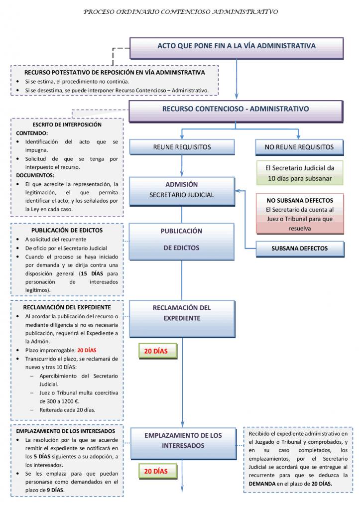 modelo recurso contencioso proceso ordinario