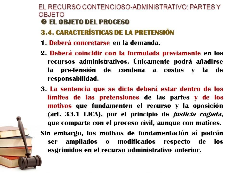 modelo recurso contencioso administrativo partes y objeto