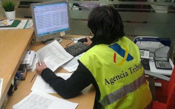 modelo representación aeat inspección agente