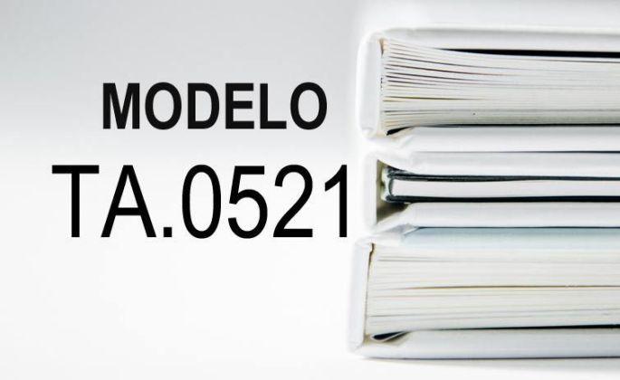 modelo ta 0521 papeles