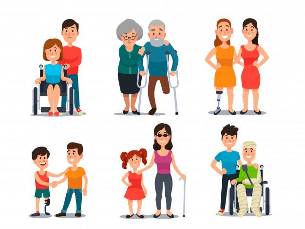 modelo 121 vector familiares discapacitados