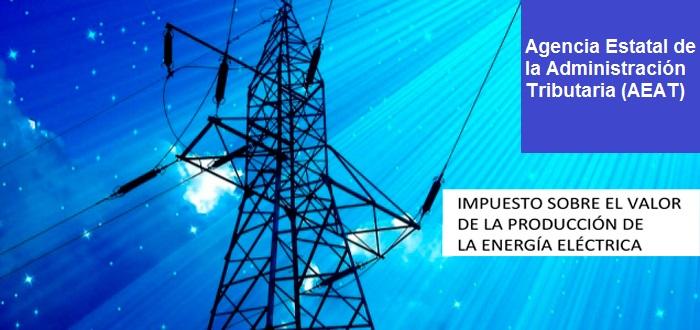 modelo 583 impuesto energía eléctrica aeat