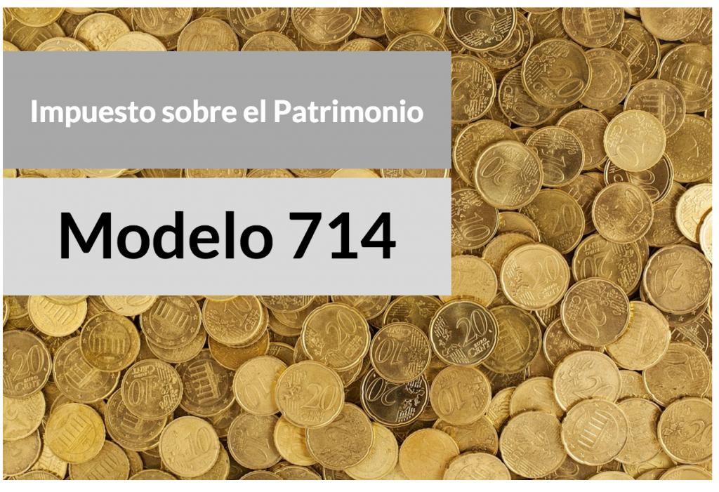modelo 714 impuesto patrimonio