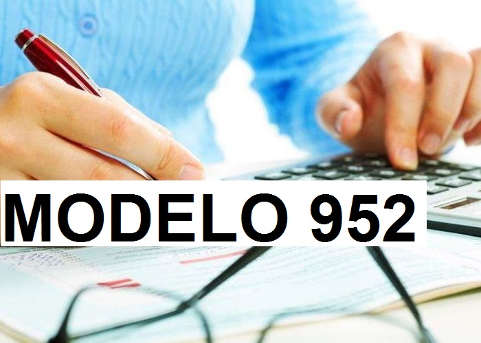 modelo 952 base imponible acreedores