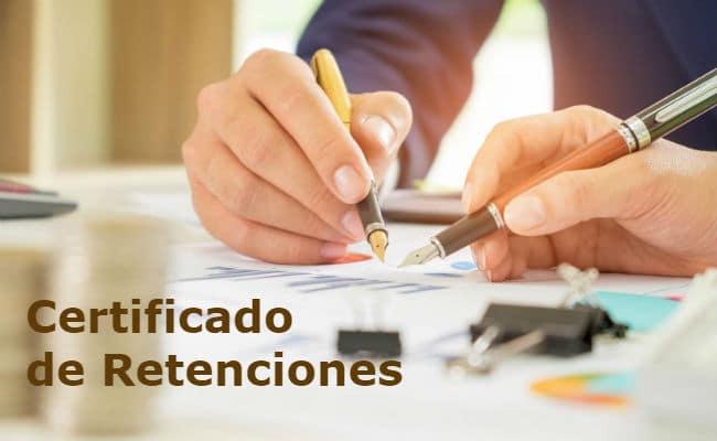 modelo certificado de retenciones irpf aeat