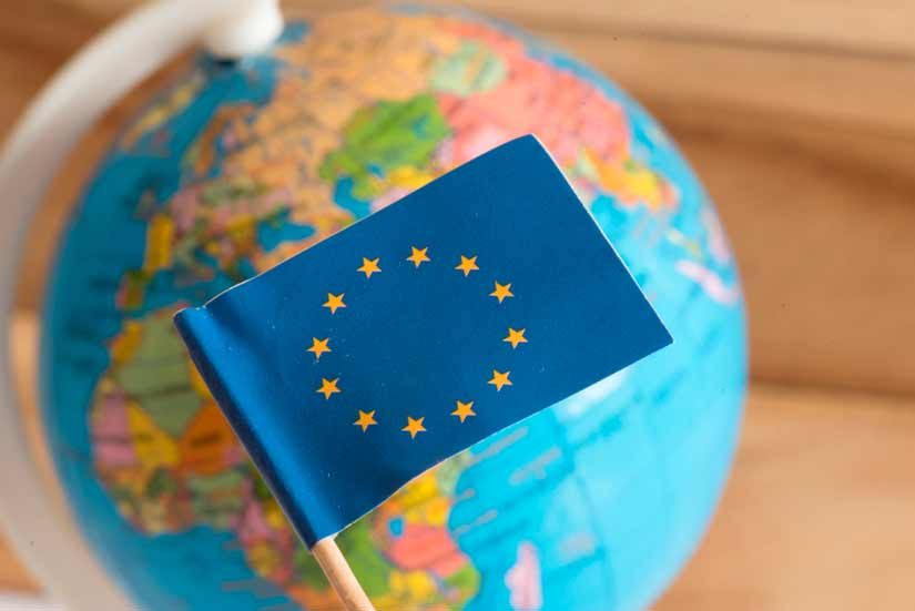 modelo ex11 unión europea bandera