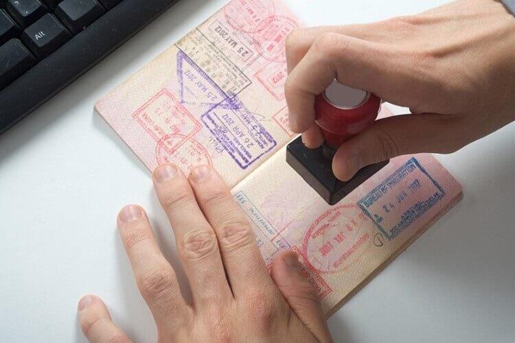 modelo ex11 sello pasaporte