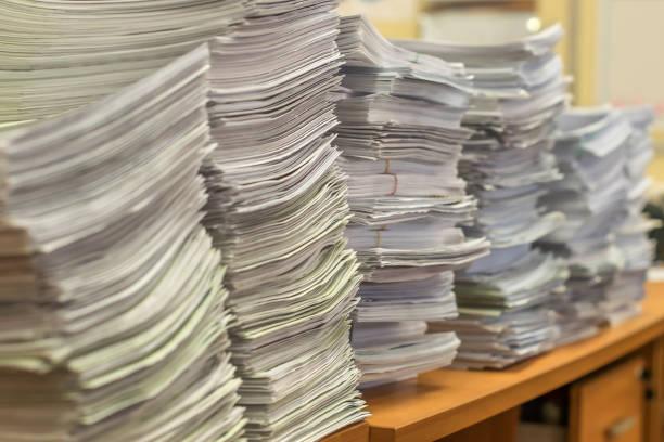 modelo recurso potestativo de reposición pila de papeles