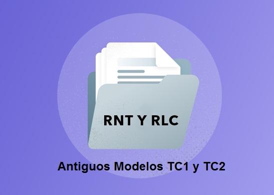 modelo tc1 rnt y rlc