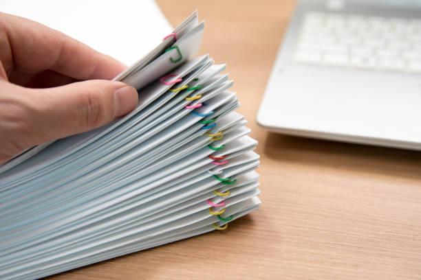 modelo tc1 pila de documentos